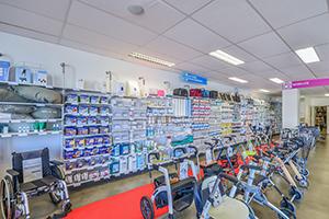 rayon incontinence produit à la location et à la vente déambulateur